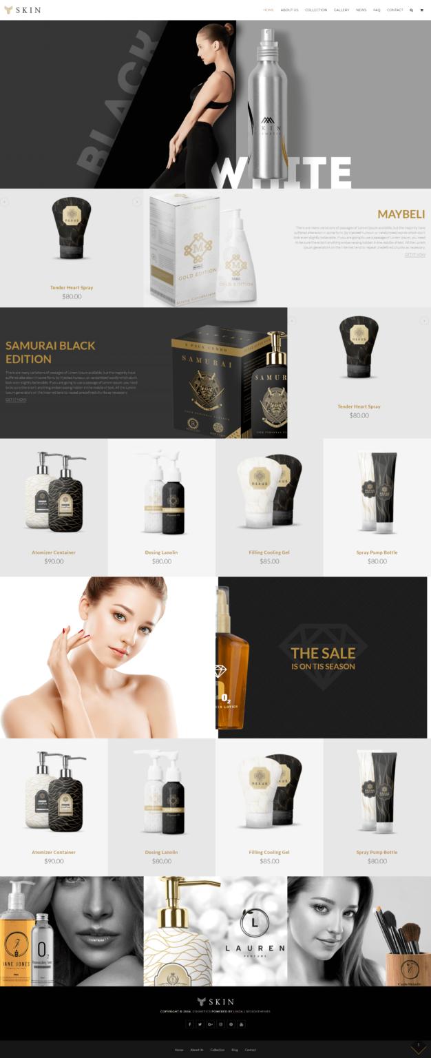 imagen de un diseño de tienda online