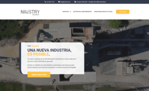 Servicios Web corporativa Industria