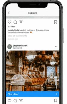 anuncio en instagram
