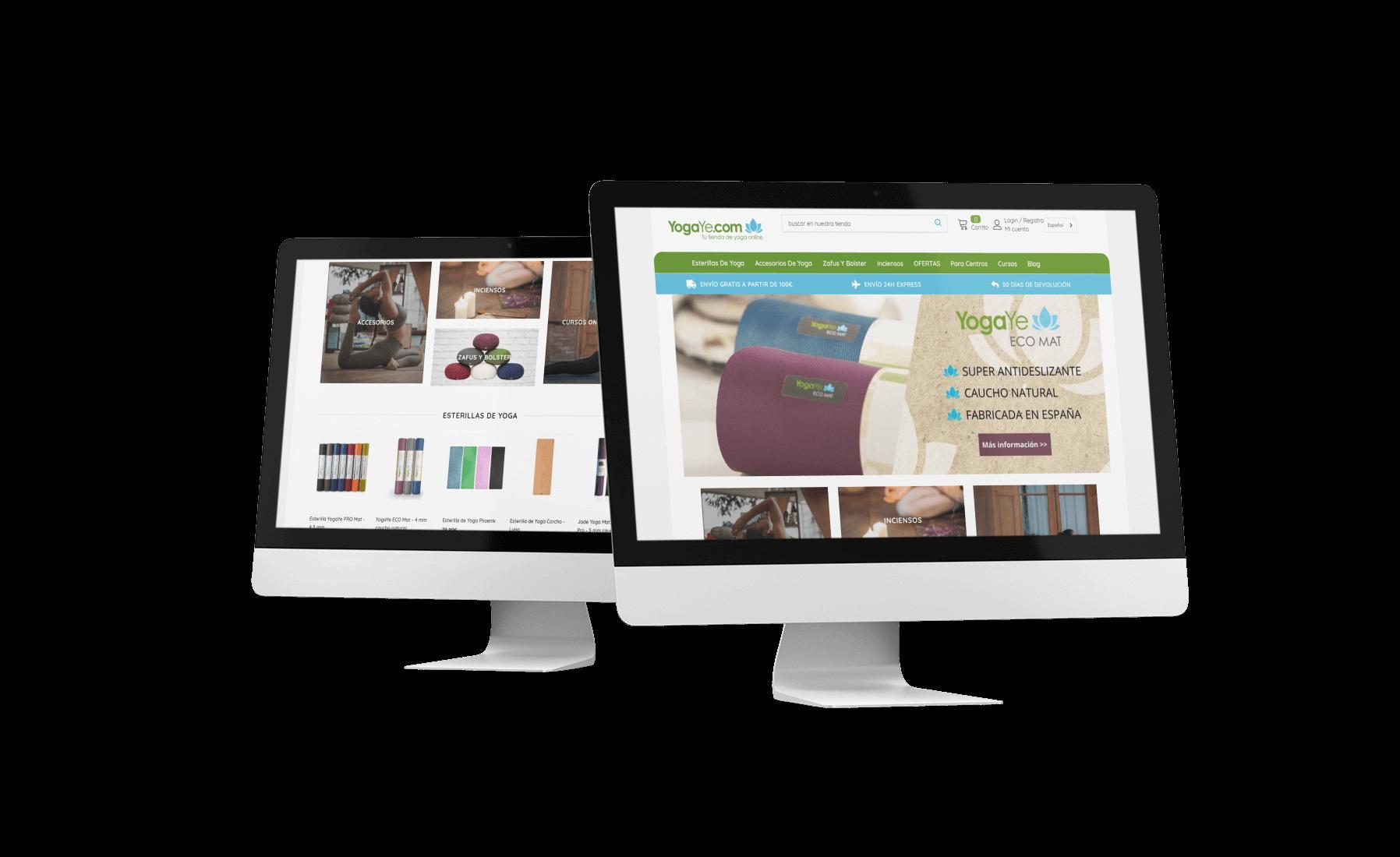 Creación de una pagina web para cliente de barcelona